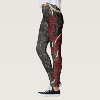 Rose & Pearl Leggings