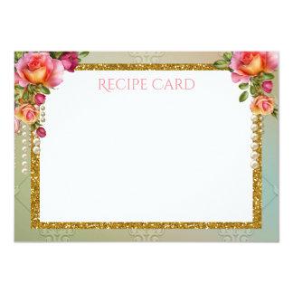 Rose Pearl Recipe Cards