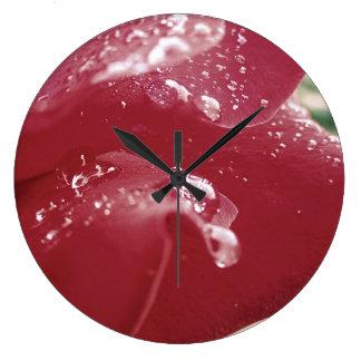 Rose Petal Clock