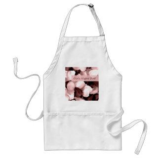 rose petals ~ girls night out standard apron