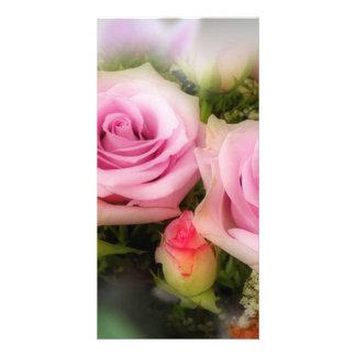 Rose Photo Card Template
