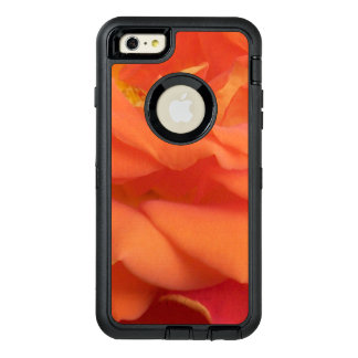Rose photo - Orange OtterBox Defender iPhone Case