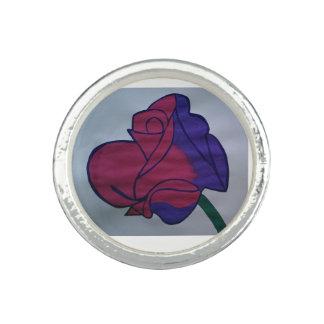 Rose Photo Ring