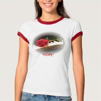 "Rose&Piano  ""HOPE"" T-Shirt"