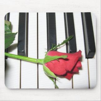 Rose Piano Mousepad