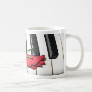 Rose Piano Mug