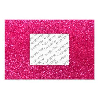 Rose pink glitter photo art