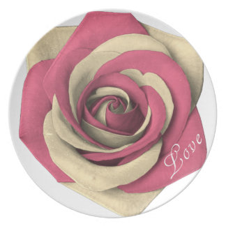 Rose Pink Plate