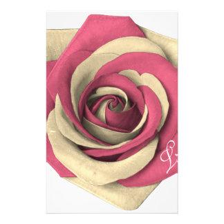 Rose Pink Stationery
