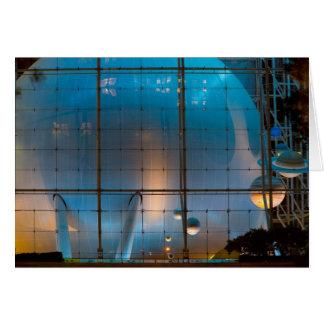 Rose Planetarium Card