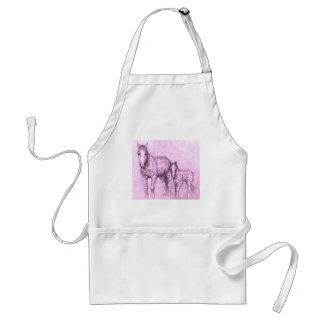 rose ponies standard apron