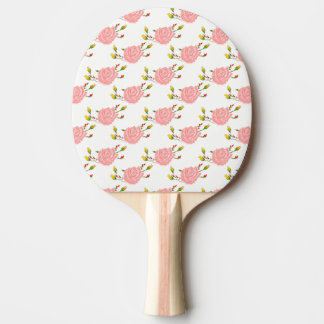 Rose Print Ping Pong Paddle