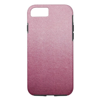Rose Quartz and Radiant Orchid Glitter Sand Ombre iPhone 7 Case