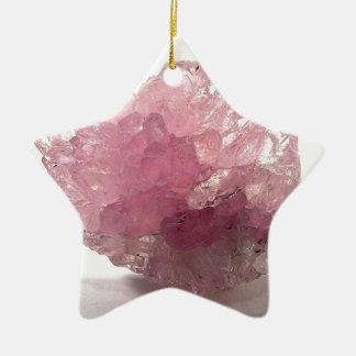 Rose Quartz Bliss Travelers Ceramic Ornament