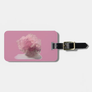 Rose Quartz Bliss Travelers Luggage Tag