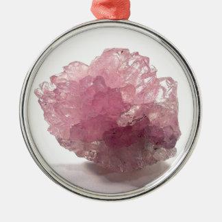Rose Quartz Bliss Travelers Metal Ornament