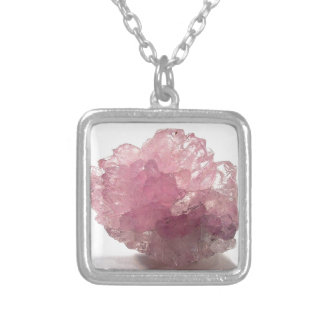 Rose Quartz Bliss Travelers Silver Plated Necklace
