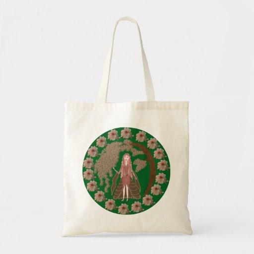 Rose Quartz Faerie Canvas Bag
