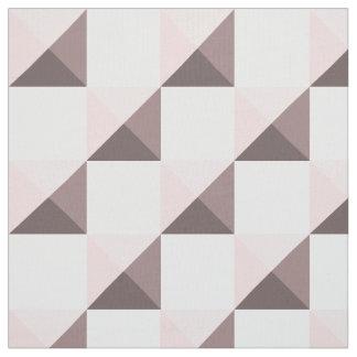 Rose Quartz Pink Pyramid Illusion Fabric