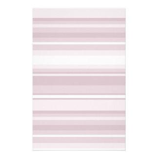 Rose quartz pink stripes stationery design