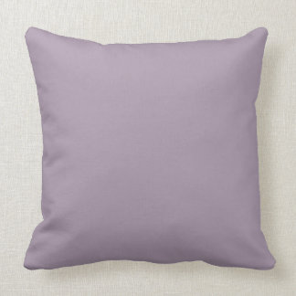 Rose Quartz Solid Color Background Throw Pillow