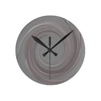 Rose Quartz Swirl Clocks