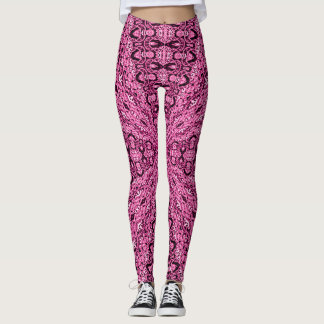 Rose Quartz Zen Fairy Leggings