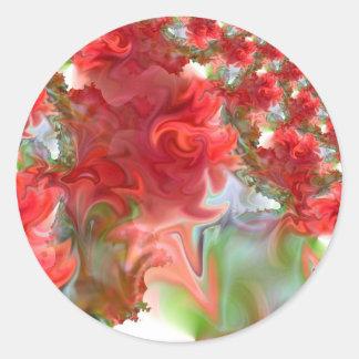 Rose Red.JPG Classic Round Sticker