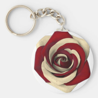 Rose Red Keychain