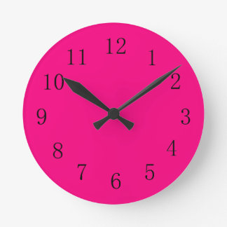 Rose Red Kitchen Wall Clock
