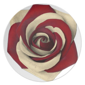 Rose Red Plate