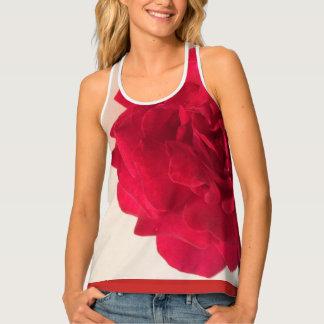 Rose Red Tank Top