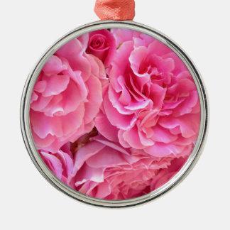 Rose Roses by Carolina Ramos Ferrer Metal Ornament