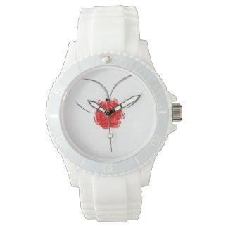 rose rouge ET décolleté Watch