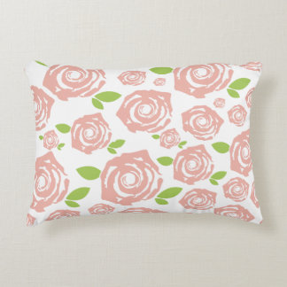 Rose sample decorative pillow