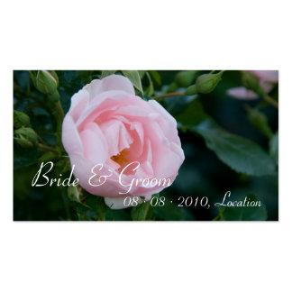 Rose :: Save the Date / Wedding Website Mini Card Business Card