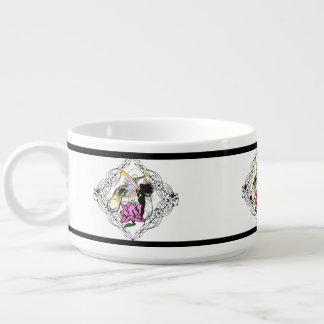Rose Shadow Fairy Bowl