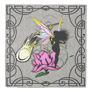 Rose Shadow Fairy Duvet Cover