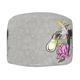 Rose Shadow Fairy Pouf