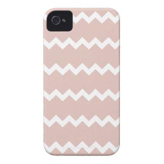 Rose Smoke Pink Chevron Iphone 4/4S Case
