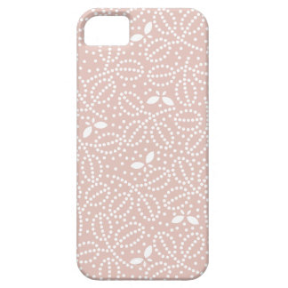 Rose Smoke Pink Leaf & Butterfly iPhone5 Case iPhone 5 Cases