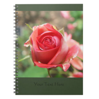 Rose Spiral Notebook 2