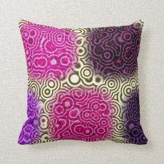 Rose stick throw pillow