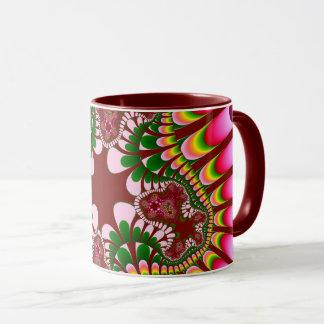 Rose Strawberry Flower Mug
