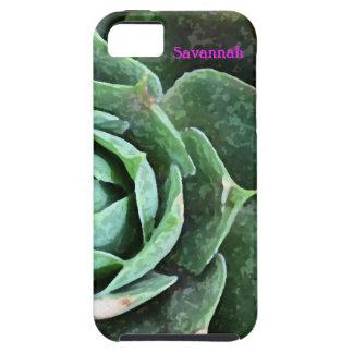 Rose Succulent personalized Iphone 5 iPhone 5 Case
