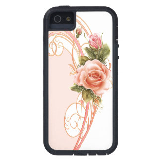 Rose Swirl Pink (PW) iPhone 5 Covers