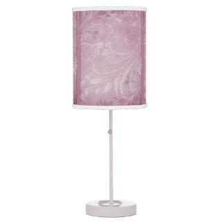 Rose Swirls Desk Lamps