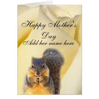 Rose & The Squirrel_ Card