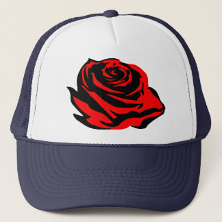 Rose Trucker Hat
