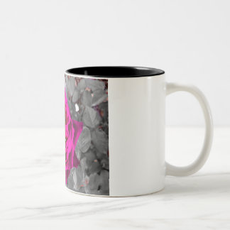Rose Two-Tone Coffee Mug